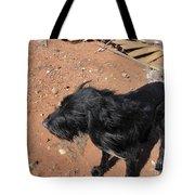 A Giant Dog Tote Bag