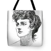 A Gibson Girl By Charles Dana Gibson Tote Bag