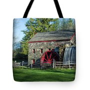 A Girl And Her Dog Tote Bag