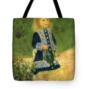 A Girl With A Watering Can 1876 Tote Bag