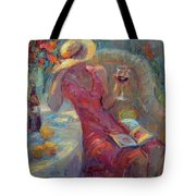A Glass Of Red Tote Bag