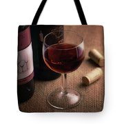 A Glass Of Wine Tote Bag