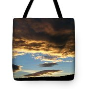 A Glorious End Of Day Tote Bag