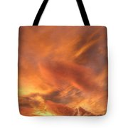 A Glorious Evening Sky Tote Bag