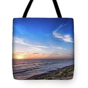 A Glorious Sunset At North Ponto, Carlsbad State Beach Tote Bag