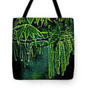 A Glow With Dew Tote Bag
