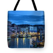 A Glowing Venice  Evening Tote Bag