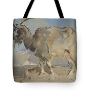 A Goat By Joseph Crawhall 1861-1913 Tote Bag