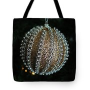 A Gold Orb- Horizontal Tote Bag