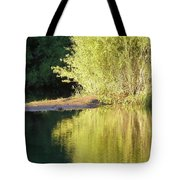 A Golden Reflection Tote Bag