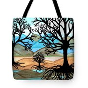 A Good Foundation Tote Bag by Connie Valasco
