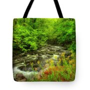 A Good Morning To Hike Tote Bag