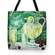 A Gourmet Cover Of Glassware Tote Bag