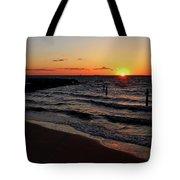 A Grand Beach Sunset Tote Bag