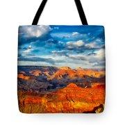 A Grand Canyon Sunset Tote Bag