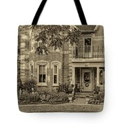 A Grand Victorian 3 - Sepia Tote Bag