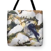 A Gray Jay Kind Of Day Tote Bag