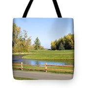 A Great Day For Golf Tote Bag