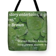 A Great Story Tote Bag