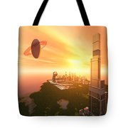 A Great Vision Tote Bag by Corey Ford