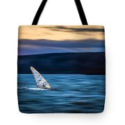 A Great Way To End The Day Tote Bag