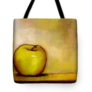 A Green Apple Tote Bag