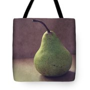 A Green Pear- Art By Linda Woods Tote Bag