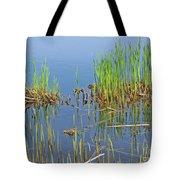 A Greening Marshland Tote Bag
