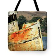 A-ground At Point Reyes Tote Bag