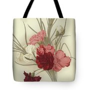A Group Of Clove Carnations Tote Bag