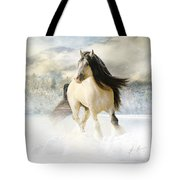 A Gypsy Winter Journey Tote Bag