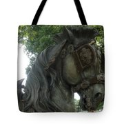 A Handsome Steed Tote Bag