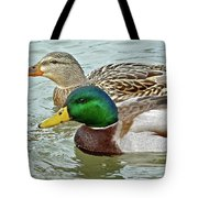 A Happy Couple Tote Bag