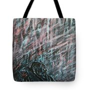 A Hard Rain Gonna Fall Tote Bag