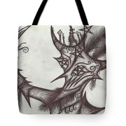 A Harlequin, The Devil Tote Bag