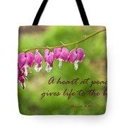 A Heart At Peace Tote Bag