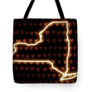 A Heart In New York Tote Bag