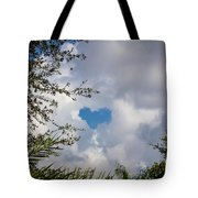 A Heart In The Sky Tote Bag