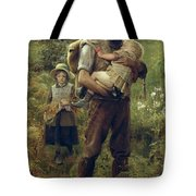 A Heavy Burden Tote Bag by Arthur Hacker