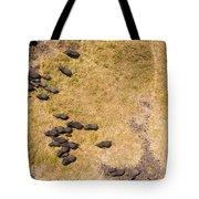 A Herd Of 100+ Elephants, Sw Corner Tote Bag
