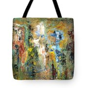 A Herd Of Five Tote Bag