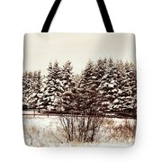 A Herd Of Trees Tote Bag