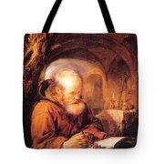 A Hermit Praying 1670 Tote Bag