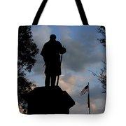 A Heroes Tribute Tote Bag by Wayne King