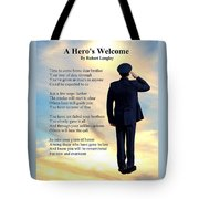 A Hero's Welcome - Air Force 1 Tote Bag