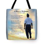 A Hero's Welcome - Air Force 2 Tote Bag