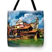 A Hidden Place In Venice Tote Bag