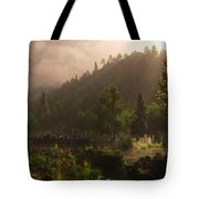 A Hidden Place Tote Bag by Melissa Krauss
