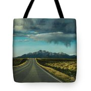A Highway To The Rockies Tote Bag