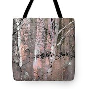A Hint Of Pink Tote Bag